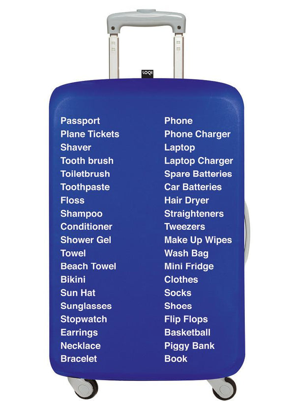 Things to Pack Luggage Cover TYPE Collection