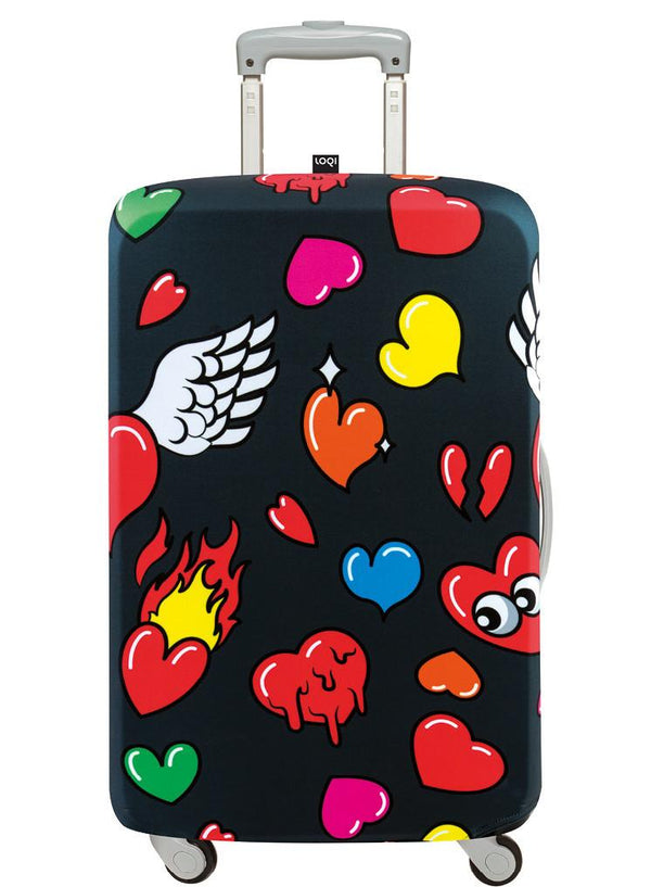 POP Hearts Luggage Cover
