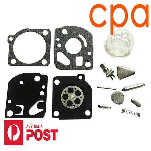 CARBY, CARBURETOR REBUILD KIT- for ZAMA RB-47  C1Q C1U