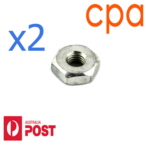 Bar Nuts - 8mm x2 for- STIHL MS170 MS180 017 018 - 0000 955 0801