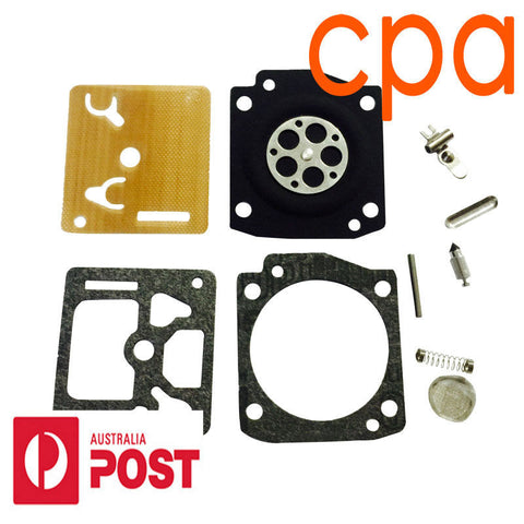 CARBY, CARBURETOR REBUILD KIT- for HUSQVARNA 362 365 372 ZAMA