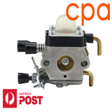 CARBURETOR FOR STIHL FS45 FS46 FS55 FC55 etc.CIQ S186A 4140 120 0619