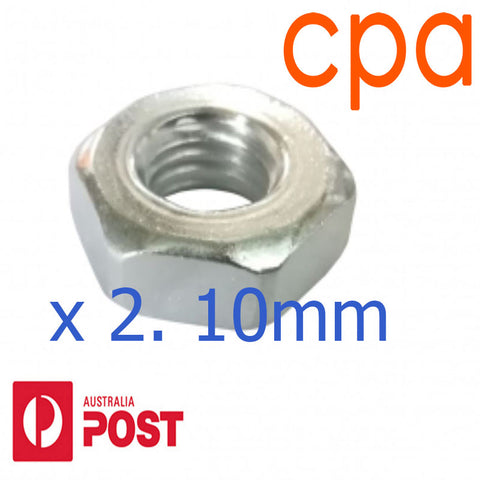 Guide Bar Nut x2, M10 for MS880 MS780 088 084 08S- 0000 955 0903