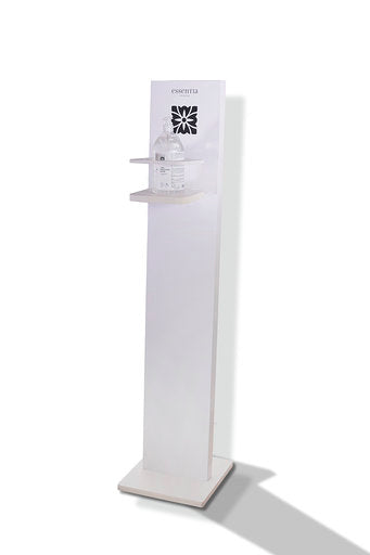 Colonna porta dispenser gel Igienizzante Mani