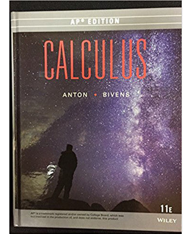 Calculus - AP Edition (11E)