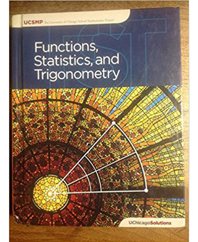 Functions, Statistics, and Trigonometry