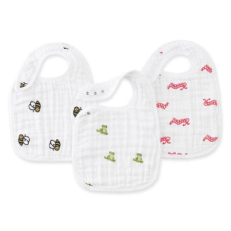 Classic Snap Bib - Set of 3 - Mod About Baby