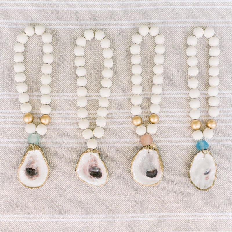 Grit and Grace Studio - Petite Recycled Oyster Shell Blessing Beads
