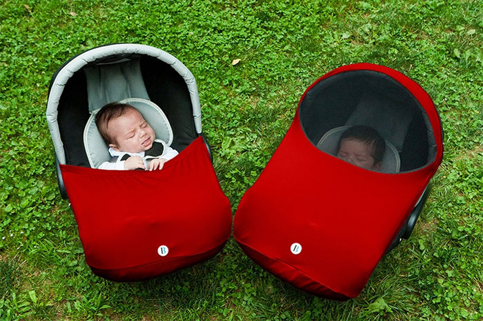 """The Shell"" Car Seat Canopy"