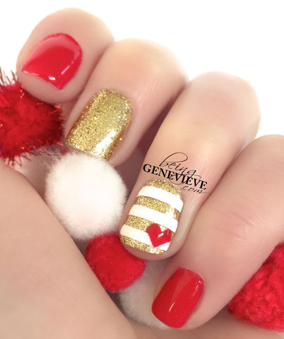 Red & Gold Easy Christmas Nail Art Tutorial Hollywood Mirror Makeup Mirror with Lights Dressing Table Mirror with Lights Vanity Mirror with Lights Illuminated Makeup Mirror Holllywood Mirror UK
