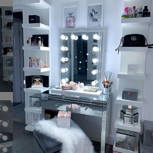 Make Up Station with Mirror