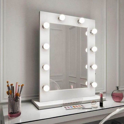 Hollywood table top mirrors for dressing rooms