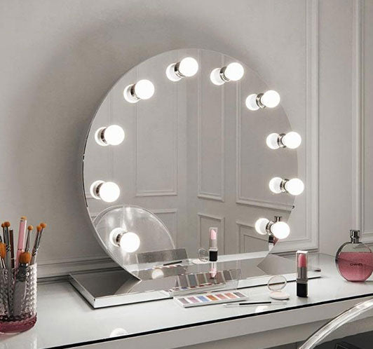 round bedroom mirror