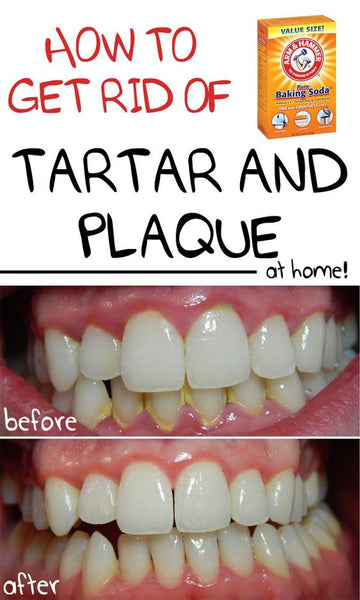 white teeth with baking soda beauty tip