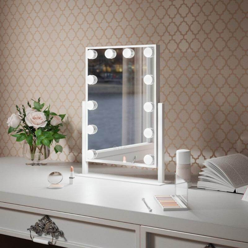 PRE ORDER - Olsen Hollywood Mirrors with Lights 50 x 39cm