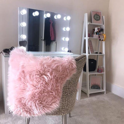 illuminated led dressing table mirror