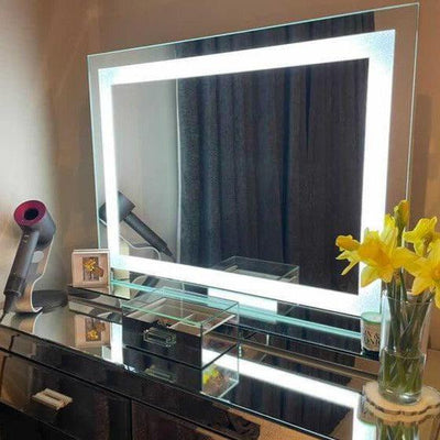 illuminated dressing table mirror portrait