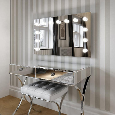 Nicole Hollywood Mirror Wall Mounted XL 60 x 100cm - hollywood mirrors