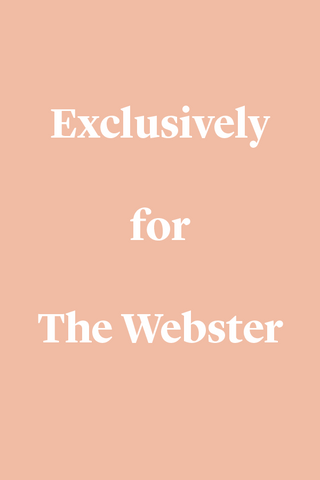 Exclusively For The Webster