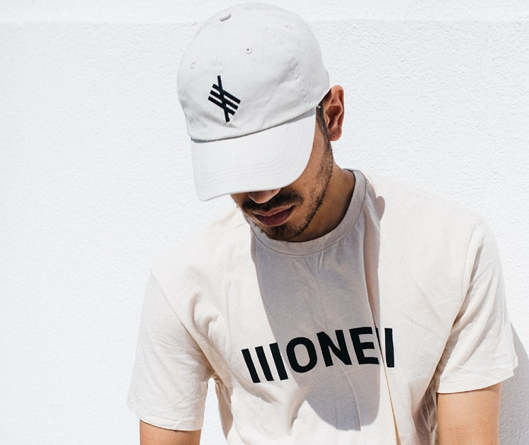 Symbolic Logo Cream Low Profile Cap