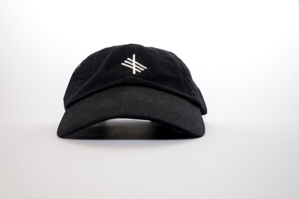 Symbolic Logo Black Low Profile Cap