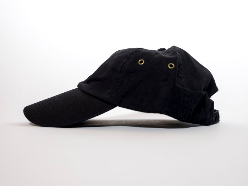 IIIONEIII Black Low Profile Cap
