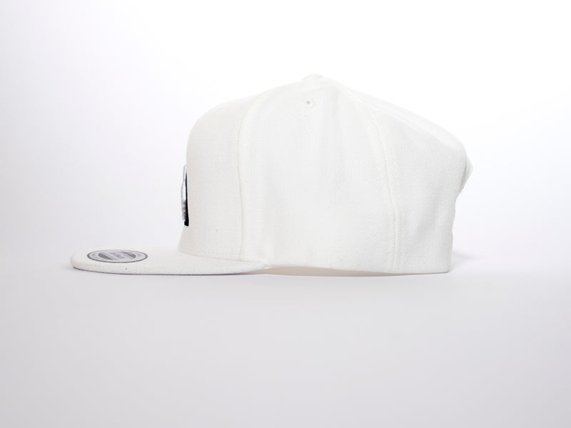 Illuminati Logo White Flatpeak Snapback