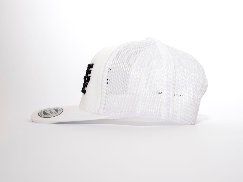 THREE ONE THREE 3D Trucker White Mesh Snapback