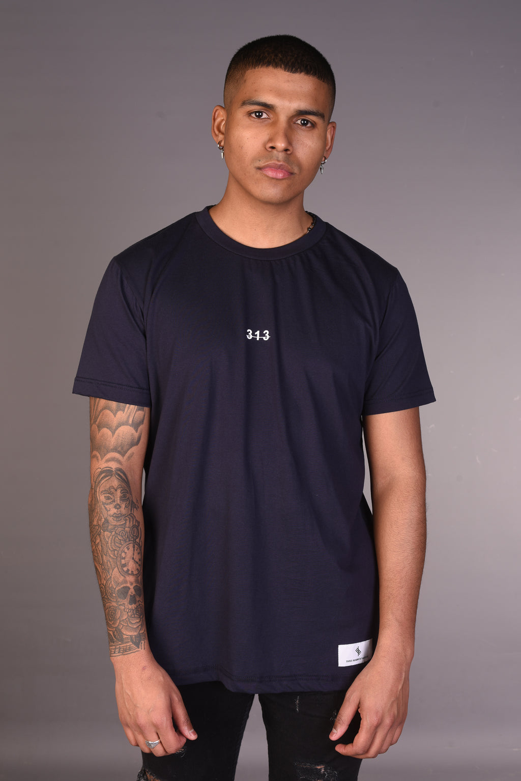 313 Recognise Greatness T-Shirt - Navy
