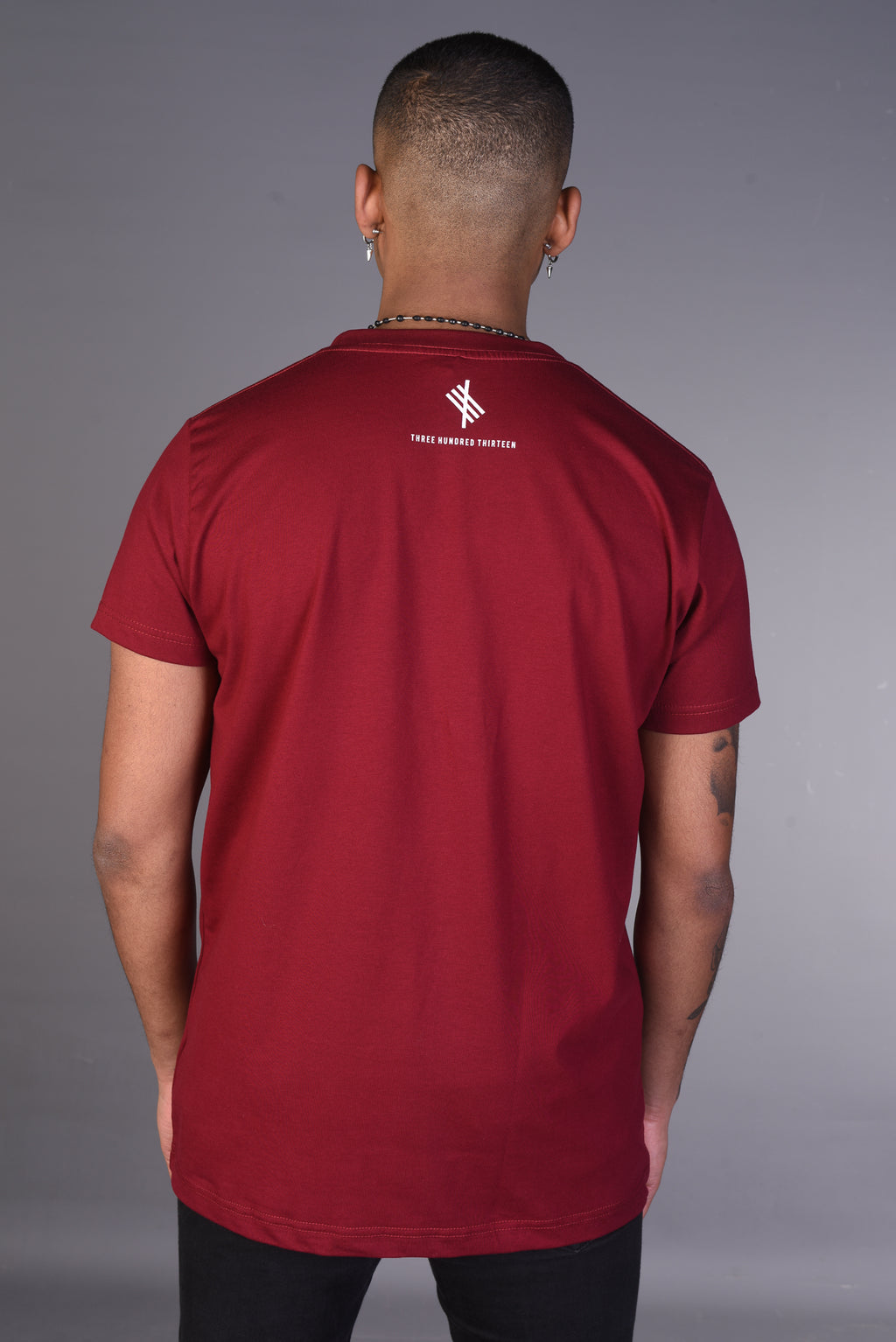 THREE HUNDRED THIRTEEN - Maroon Tee