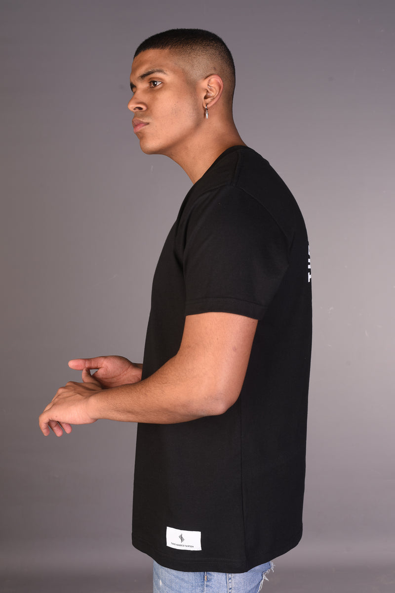 313 vs 1000 Symbolic Logo T Shirt - Black