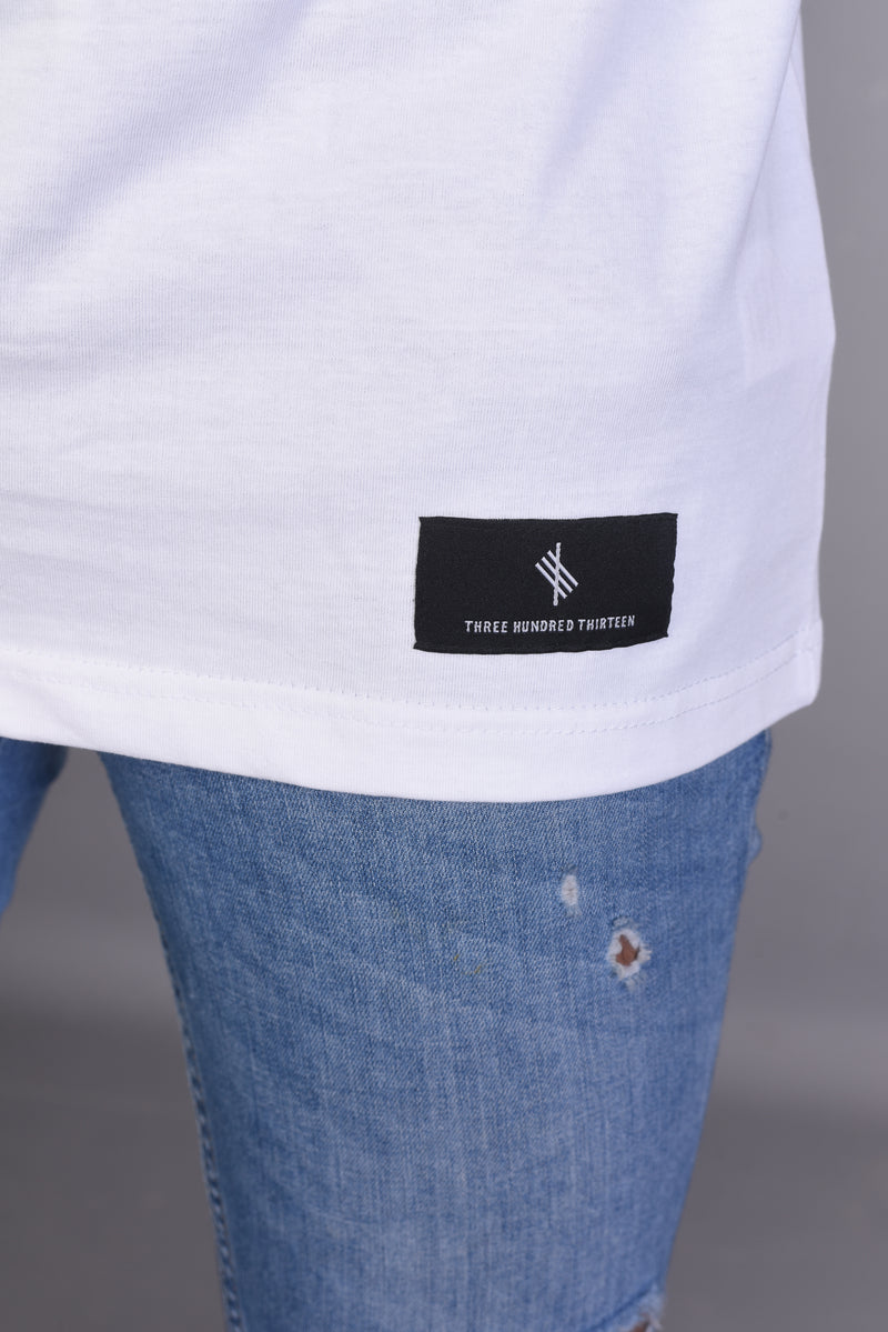 Est. 624 Three Hundred Thirteen- White Tee