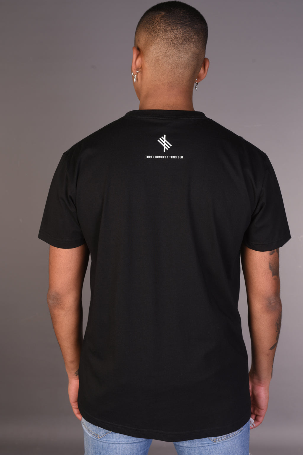 THREE HUNDRED THIRTEEN - Black Tee