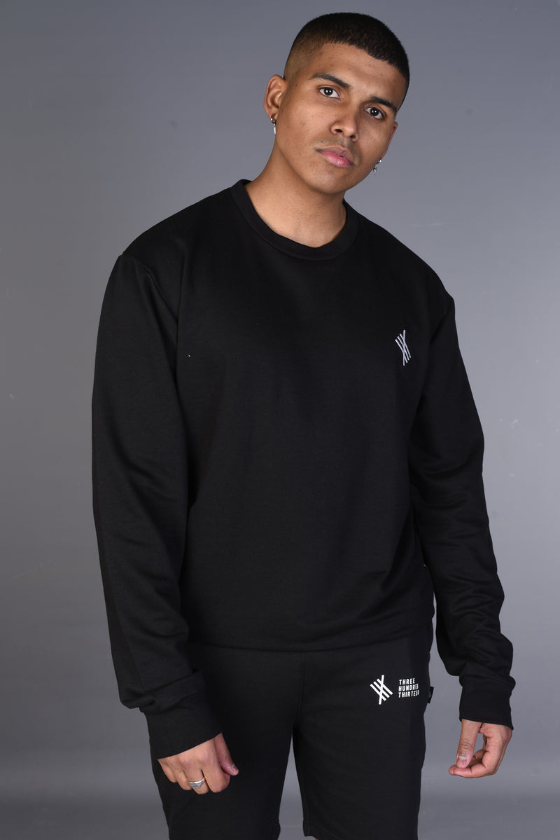 313 History Sweatshirt - Black