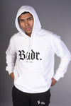 BADR - Fitted Heavy Hoody - White