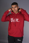 BADR - Fitted Heavy Hoody - Maroon