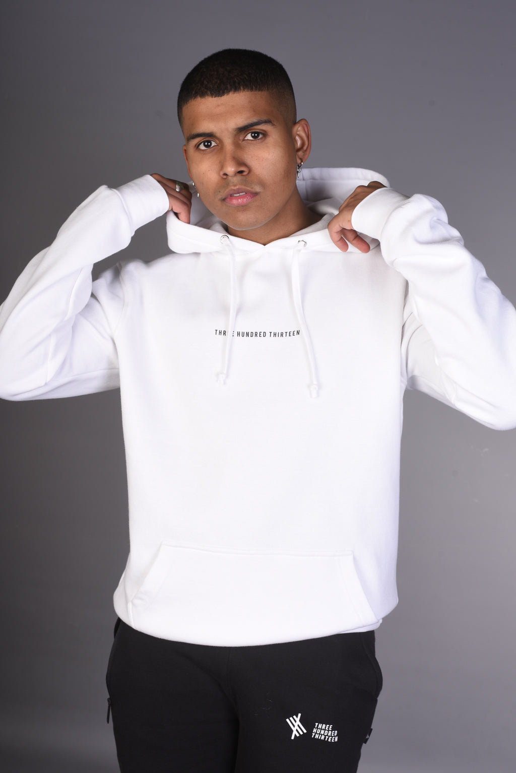 THREE HUNDRED THIRTEEN Hoody - White