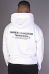 ALL RIGHTS RESERVED Arabic Hoody - White