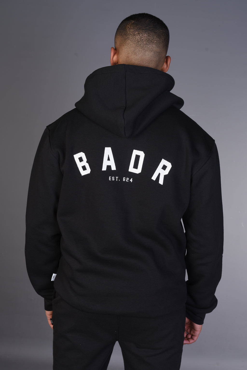 BADR Heavy ZIP Hoody - Black