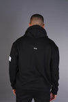 Signature Logo - Oversized Heavy Hoody - Black
