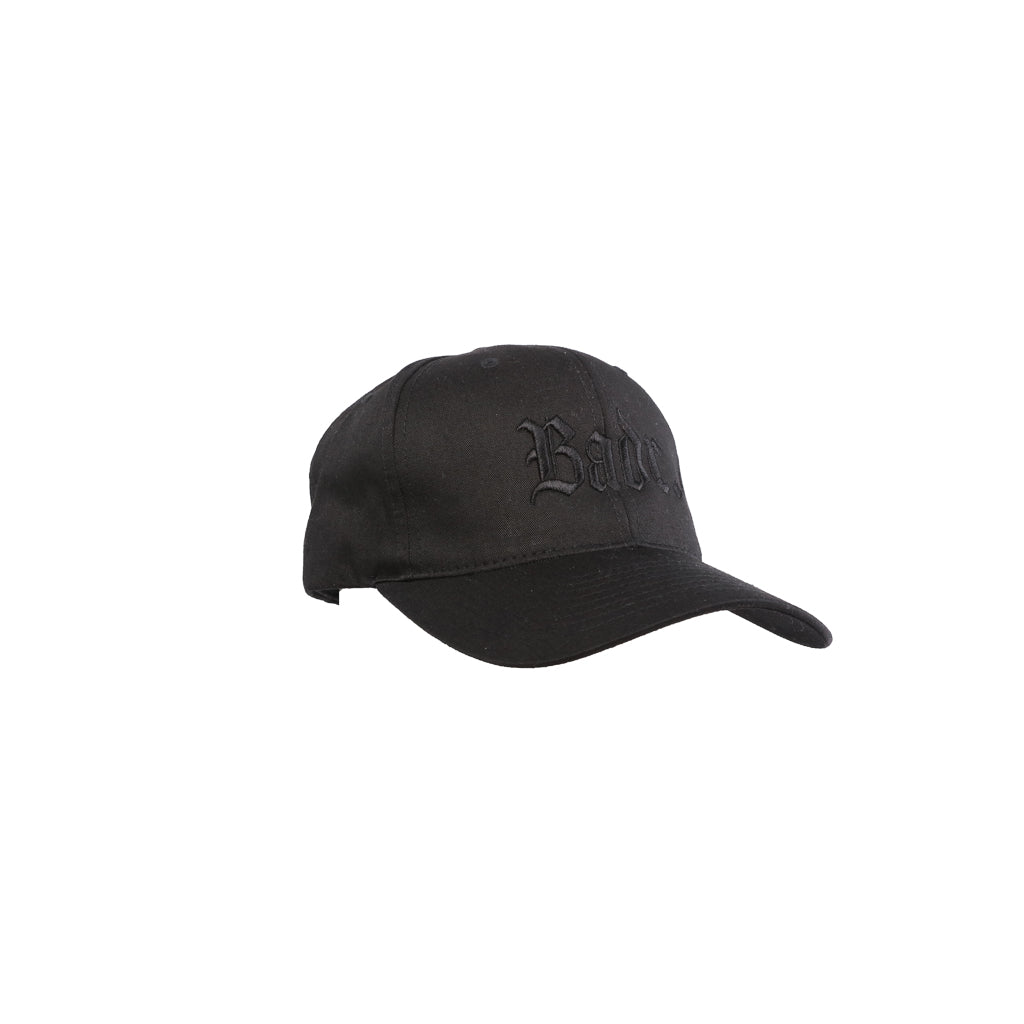 BADR - BLVCK - Black on Black Baseball Cap