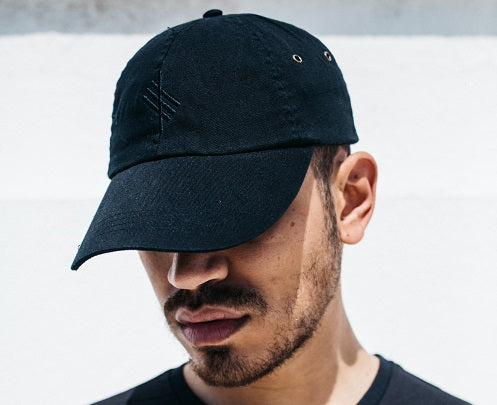 BLVCK Symbolic Logo Black Low Profile Cap
