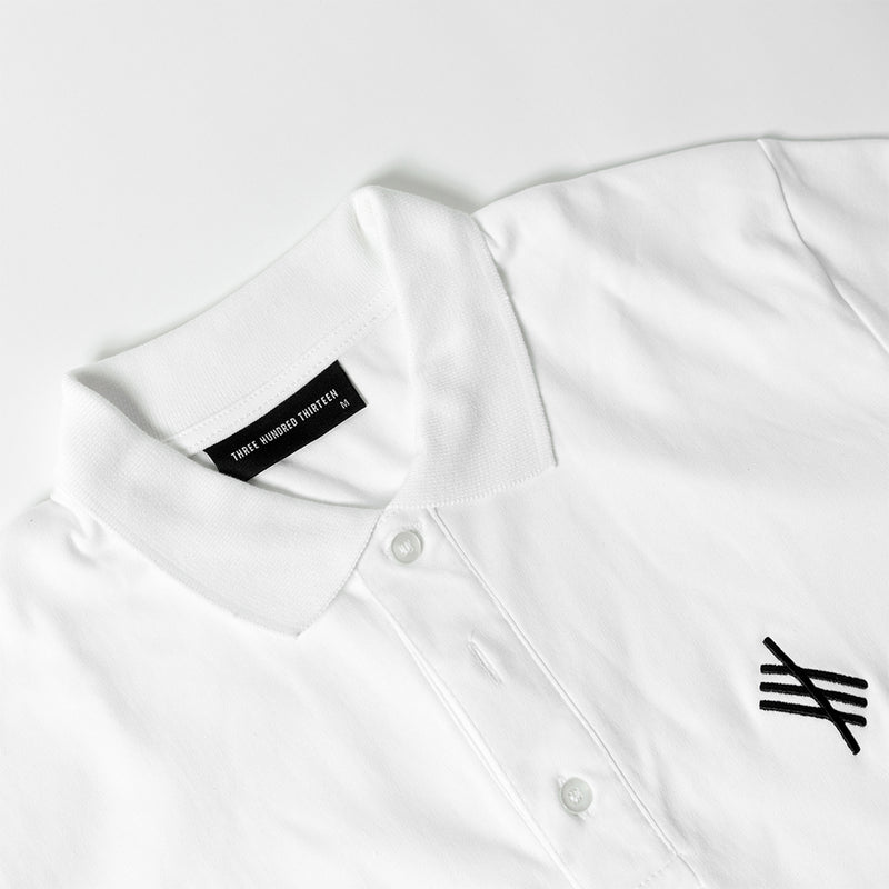 Symbolic Polo - White