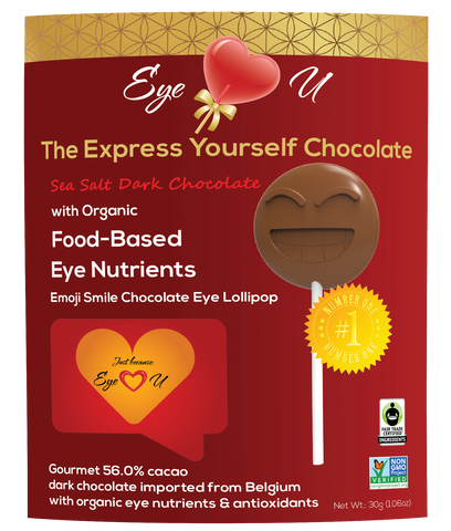 Sea Salt Dark Chocolate - Emoji Smile (12 packs)
