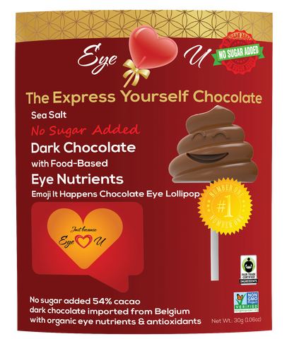 Sugar Free Sea Salt Dark Chocolate -  Emoji It Happens (12 packs)