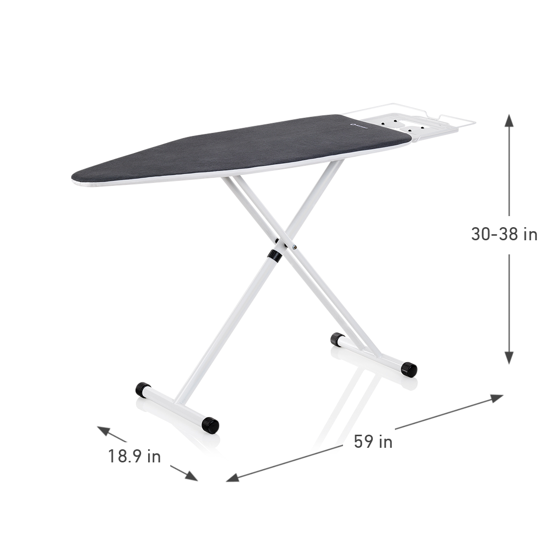 THE BOARD 100IB HOME IRONING BOARD DIMENSIONS
