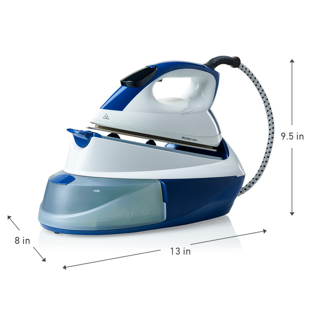 MAVEN 120IS HOME IRONING SYSTEM WITH FILTER DIMENSIONS