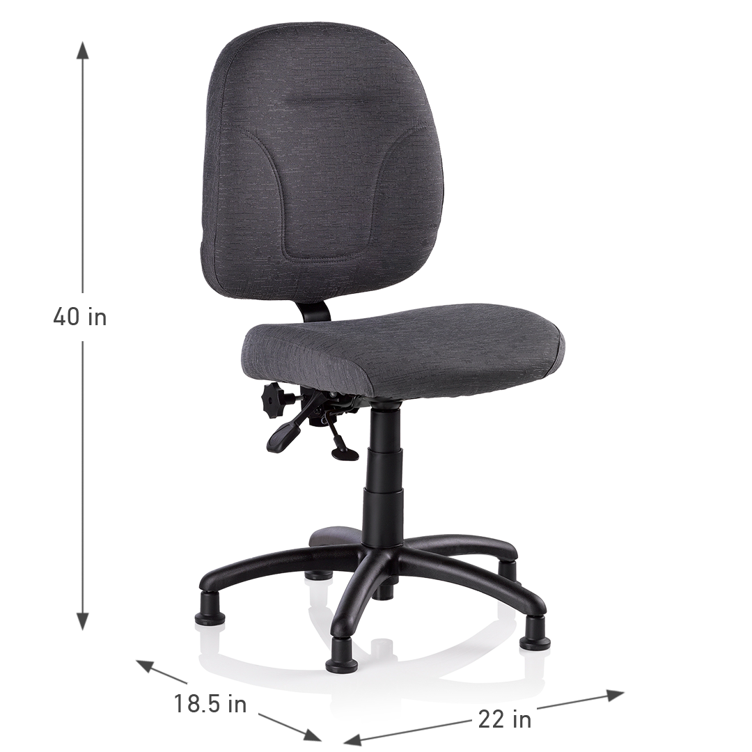 SEWERGO 200SE SEWING CHAIR DIMENSIONS