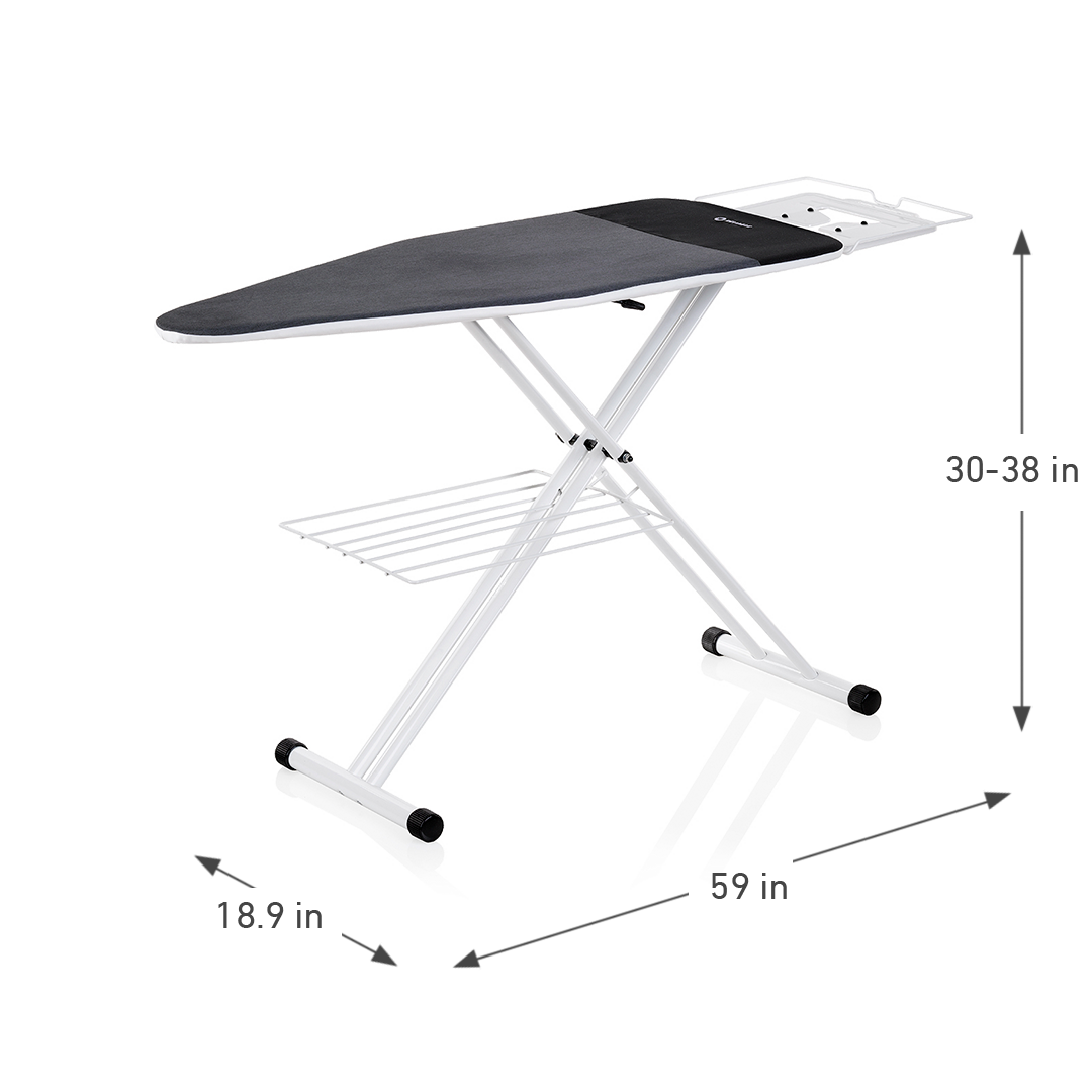 THE BOARD 220IB HOME IRONING BOARD DIMENSIONS