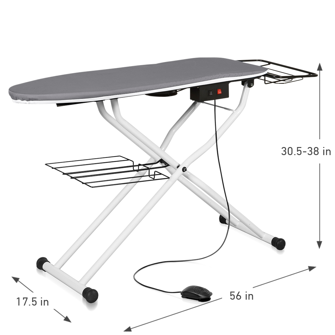 THE BOARD 500VB VACUUM & UP-AIR PRESSING TABLE DIMENSIONS